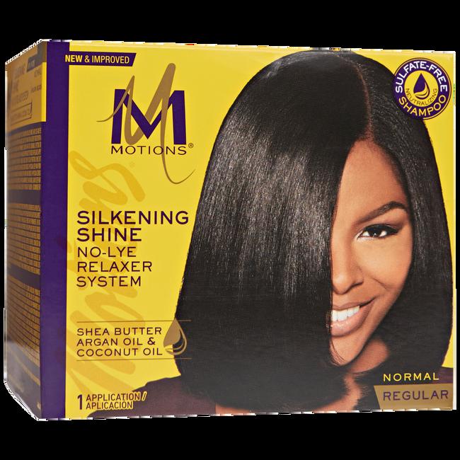Silkening Shine No Lye Relaxer Regular