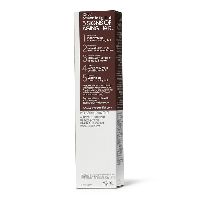 3V Darkest Plum Brown Permanent Liqui-Creme Hair Color by ...