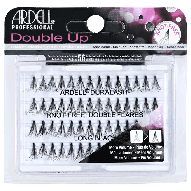 Double Individuals Long Black Lashes