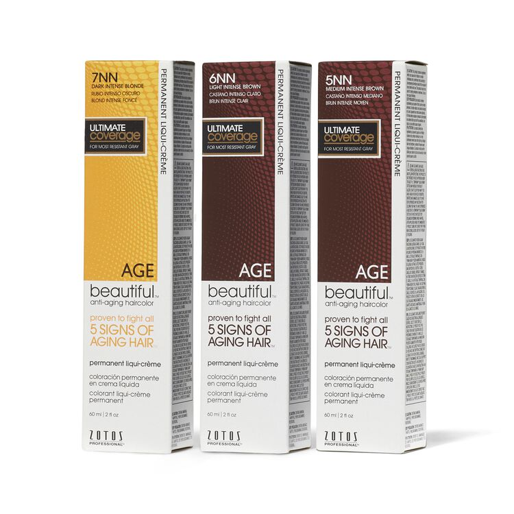 Anti Aging Intense NN Shades Permanent Liqui Creme Haircolor