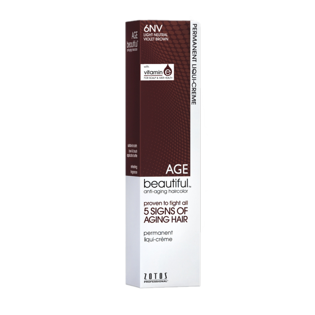 6NV Light Neutral Violet Brown Permanent Liqui-Crème Haircolor Neutral Violet Collection