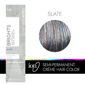 Slate Semi Permanent Hair Color