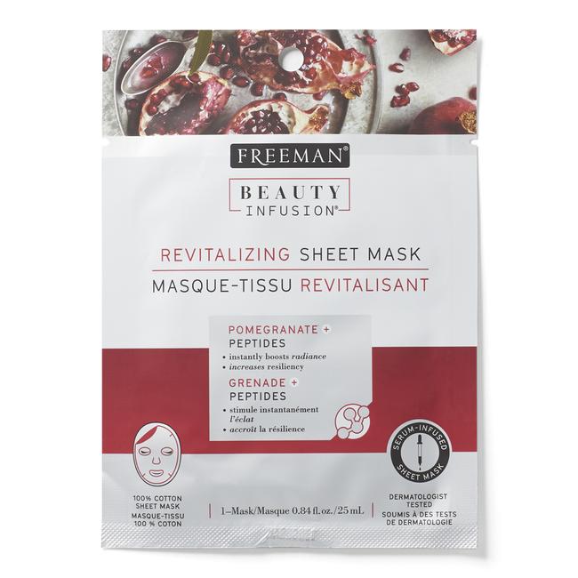 Revitalizing Sheet Mask with Pomegranate & Peptides