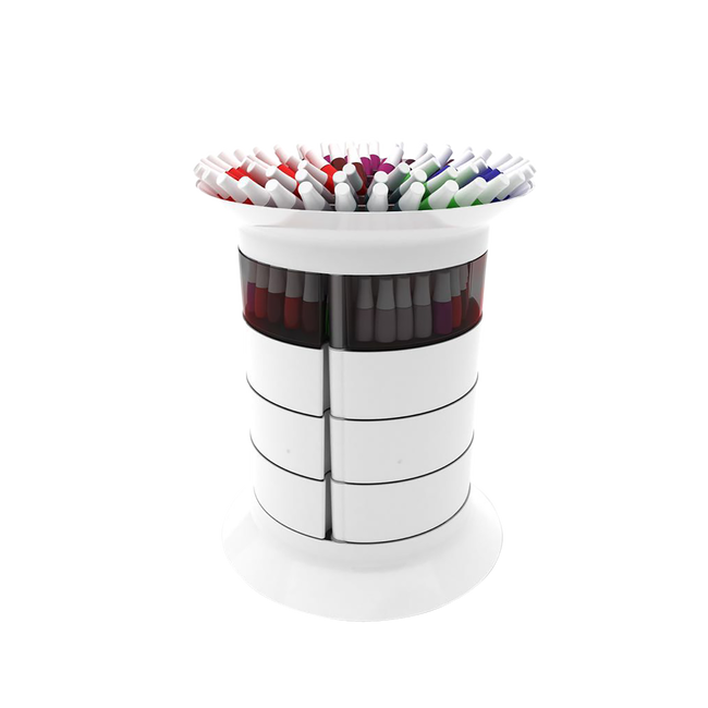 360 Manicure Trolley White