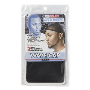 Get'N Waves Wave Cap Black
