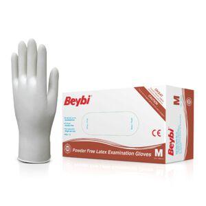 Latex Gloves Powder-Free Medium 100 Count