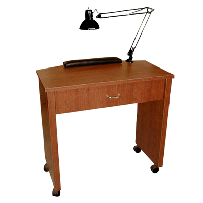 QSE Petite Nail Table Wild Cherry