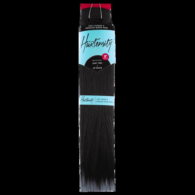 18 Inch Human & Premium Blend Hair