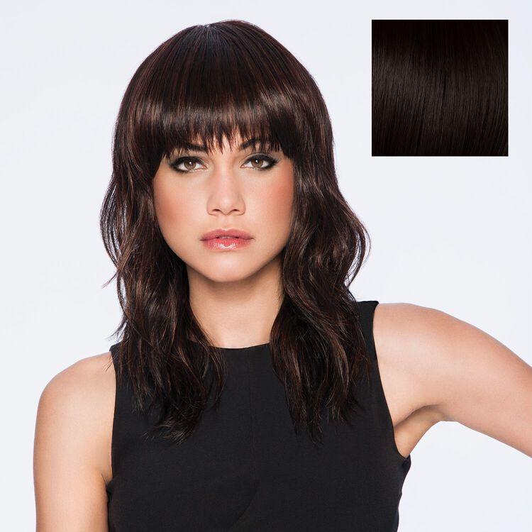 Wave Cut Wig Midnight Brown