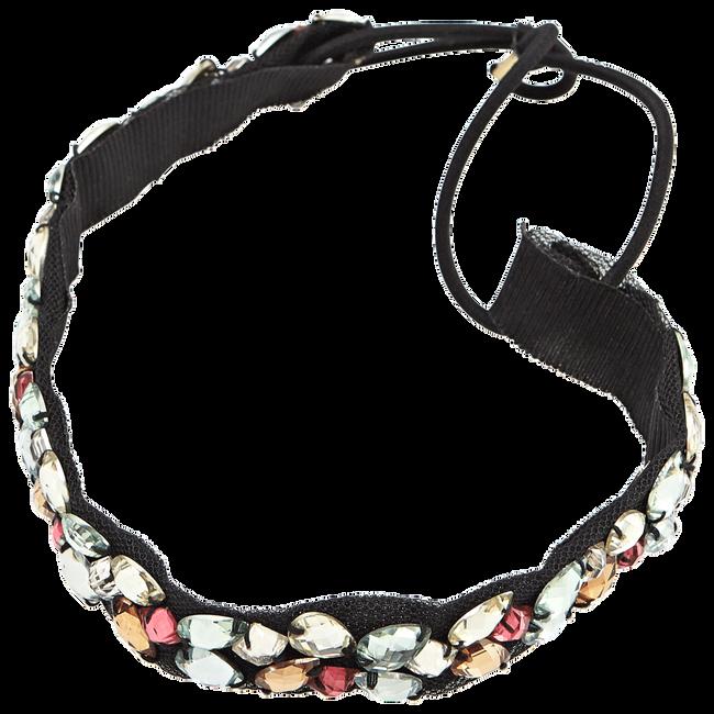 Black Color Stone Headwrap