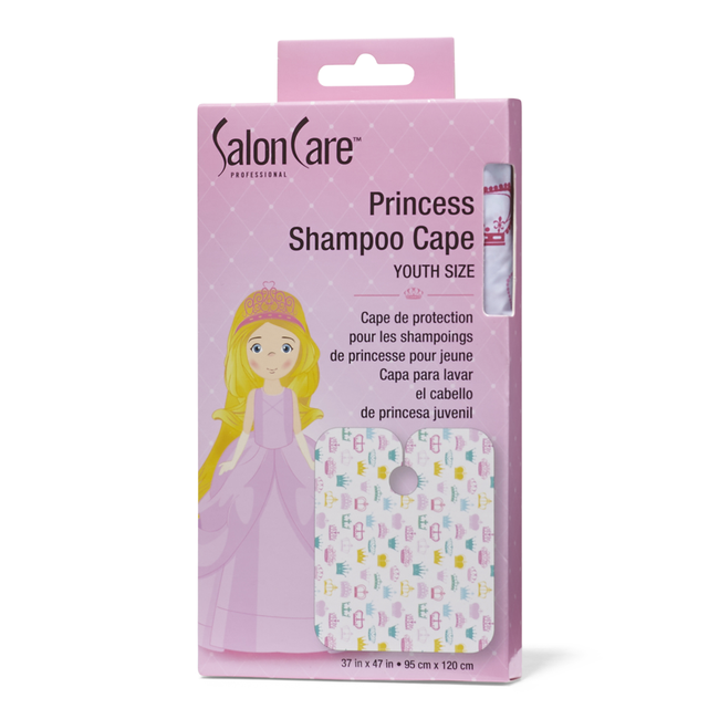 Princess Shampoo Cape