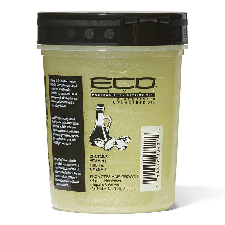 Eco Style Black Castor Flaxseed Oil Styling Gel Hair Gel Glaze Textured Hair Sally Beauty