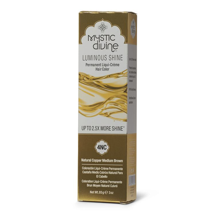 4NC Copper Medium Brown Permanent Liqui-Creme Hair Color