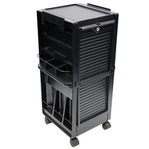 Salon Trolley with Lockable Doors