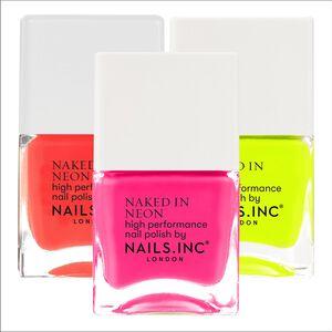 Naked In Neon Nail Polish
