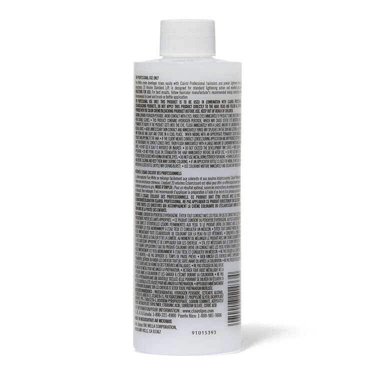Pure White 20 Volume Creme Developer 8 oz.