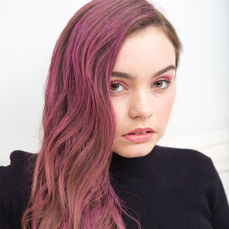 Ex-Girl Poser Paste Temporary Hair Makeup