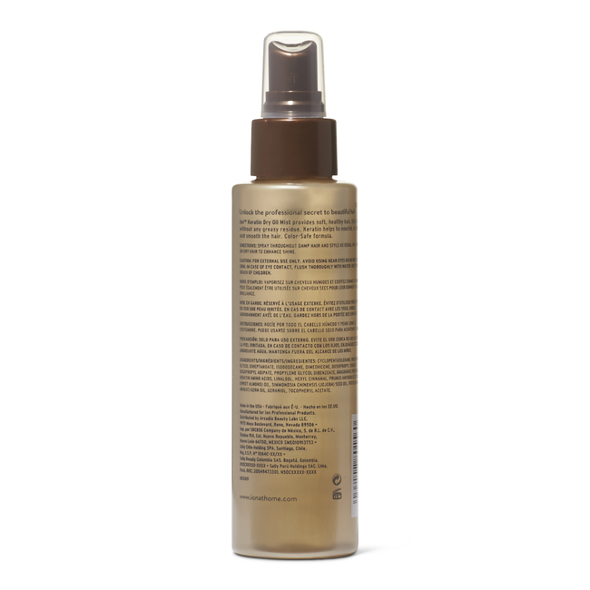 Keratin Dry Oil Mist