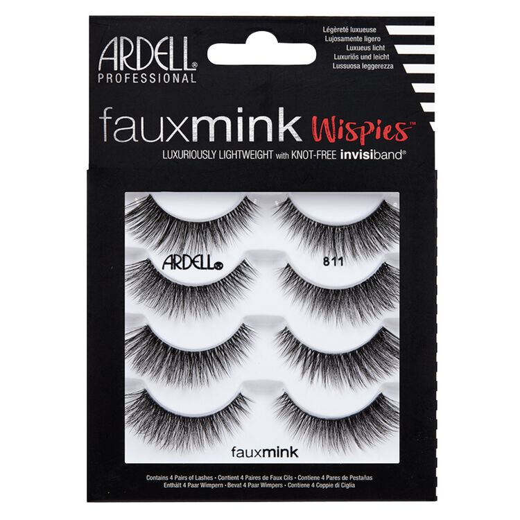 4 Pack Faux Mink 811 Lashes