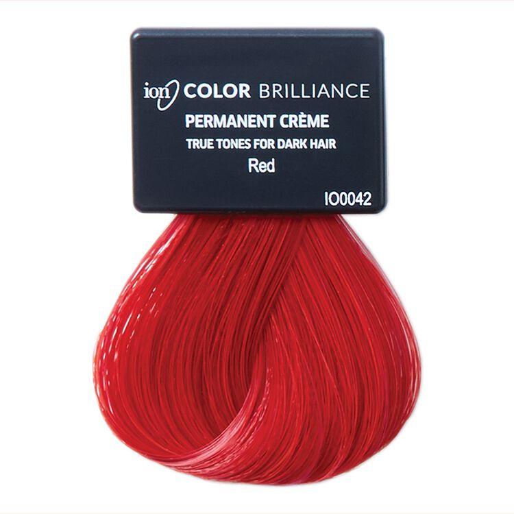 True Tones for Dark Hair Permanent Crème Hair Color Red