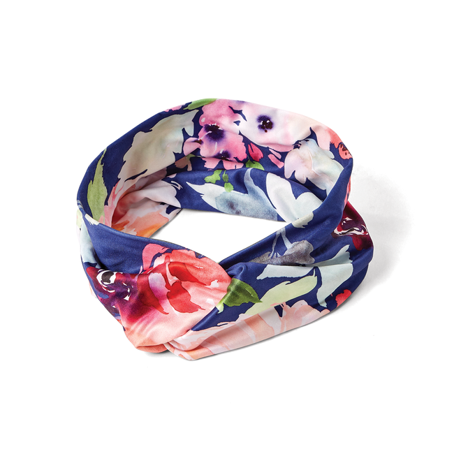 Floral Pattern Fabric Headband