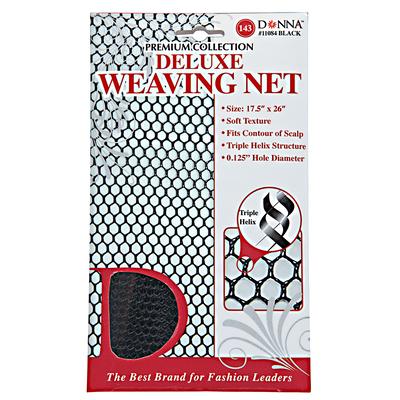 Black Deluxe Weaving Net