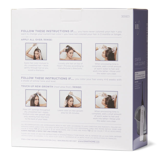 Starter Hair Color Kit