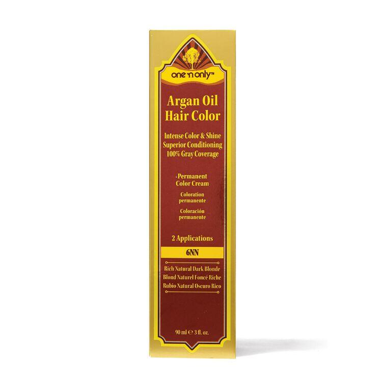 6NN Rich Natural Dark Blonde Argan Oil Permanent Hair Color