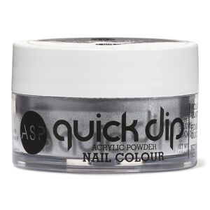 Quick Dip Powder Silver Sheen