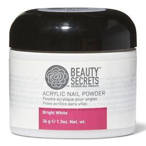 Bright White Acrylic Nail Powder