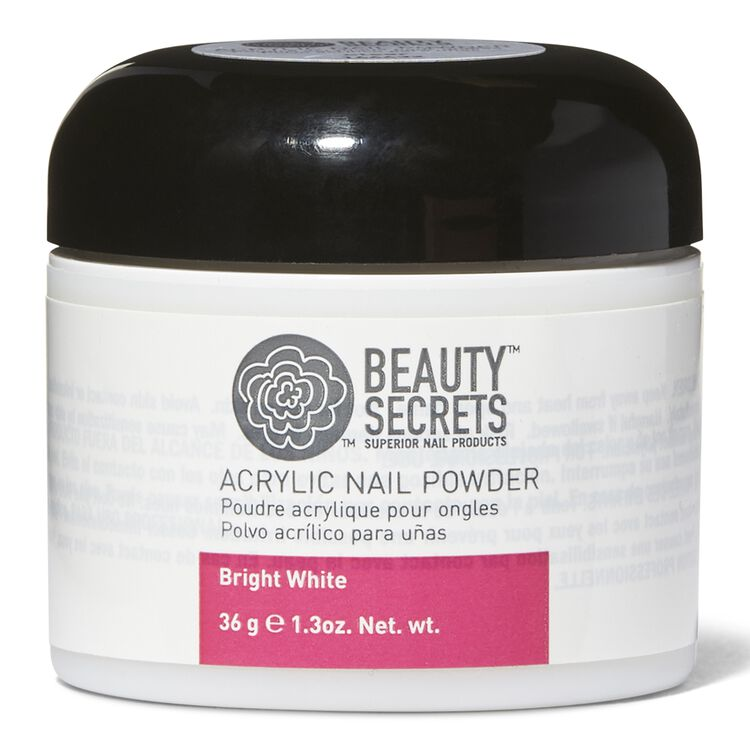 Bright White Acrylic Nail Powder
