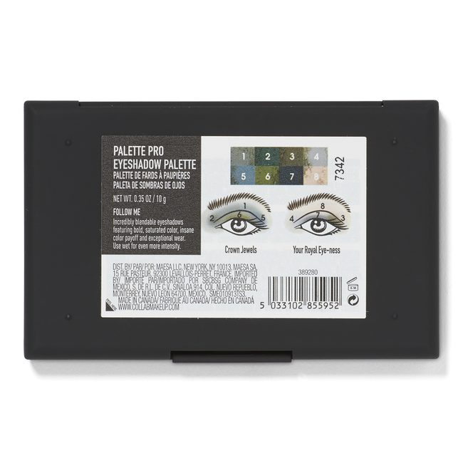Palette Pro Eyeshadow Palette Follow Me