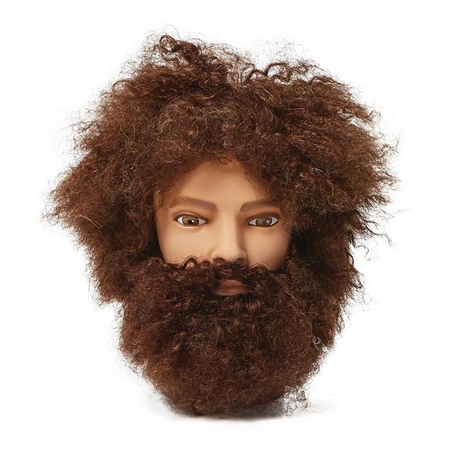 Mr. Denton Afro Mannequin Head