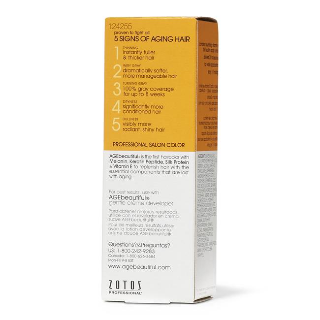 Anti-Aging 8G Medium Golden Blonde Permanent Liquid Hair Color