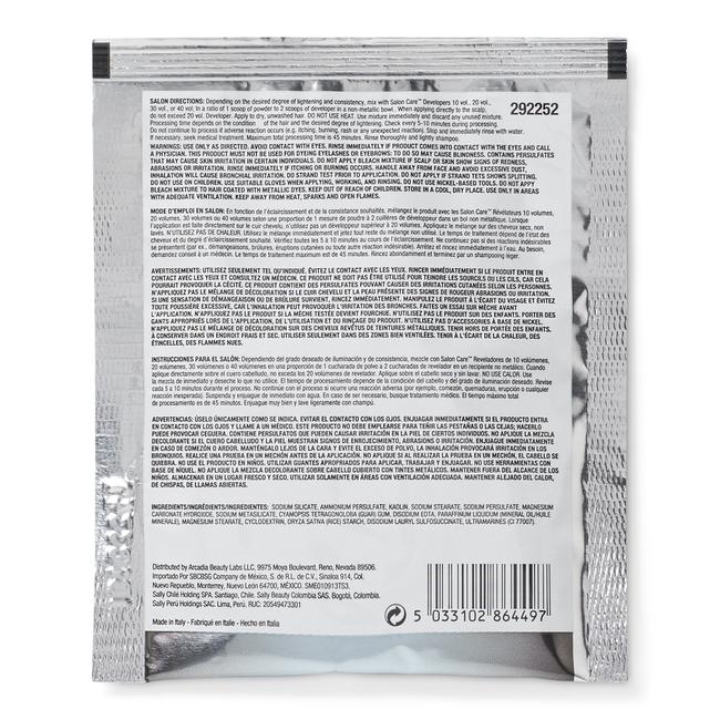 Blue Flash Powder Lightener 1 oz
