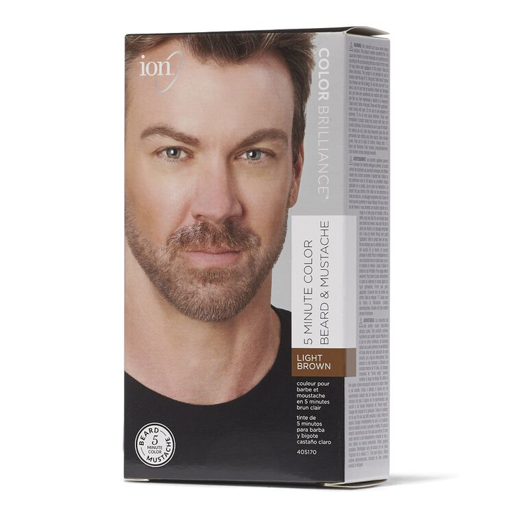 Light Brown 5 Minute Beard & Mustache Color