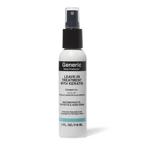 Leave In Treatment with Keratin Compare to It's a 10 Miracle Leave-in Plus Keratin
