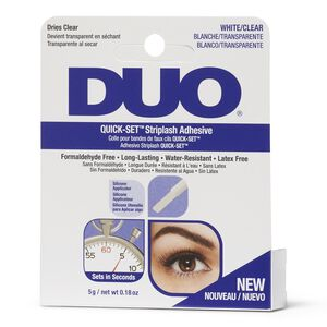 DUO Quick-Set Striplash Adhesive Clear