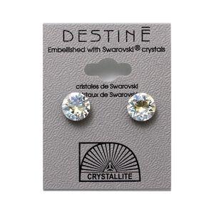 Destine Earring Moonlight Diamond Cut 8mm