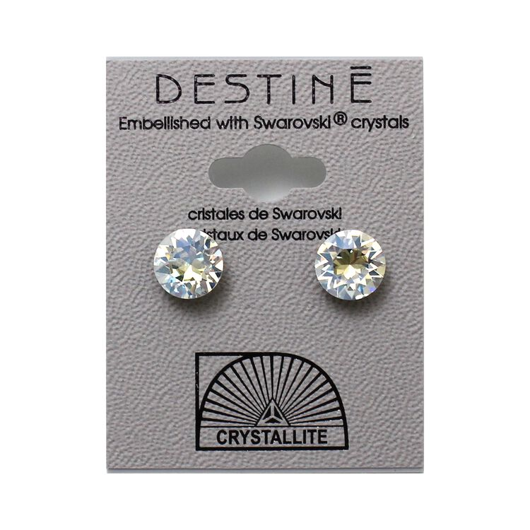 Destine Earring Moonlight Diamond Cut 8mm