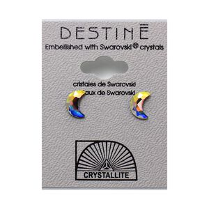 Destine Earring AB Moon 8mm
