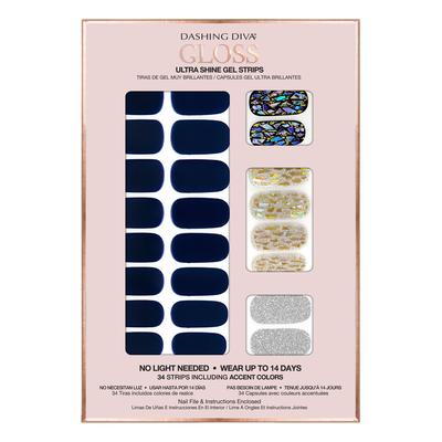 Ultra Shine Gel Strips Lapis Lazuli