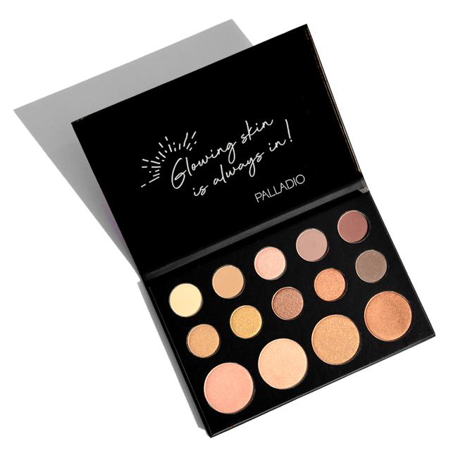 Sun-Kissed Mirage Eyeshadow + Highlighter Palette