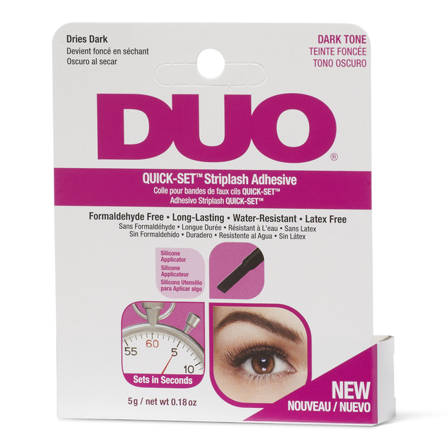 DUO Quick-Set Striplash Adhesive Dark