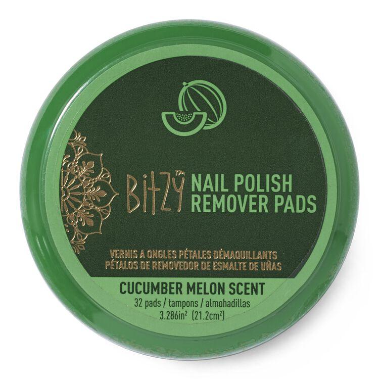 Scented Cucumber Nail Polish Remover Petals