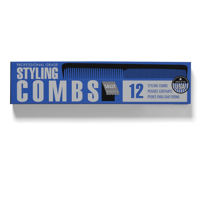 Black Professional Styling Comb #10