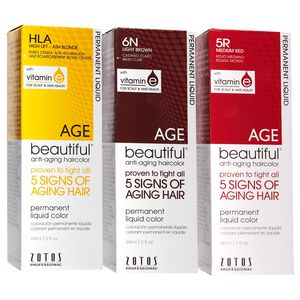 Anti Aging Permanent Liquid Hair Color with Vitamin E
