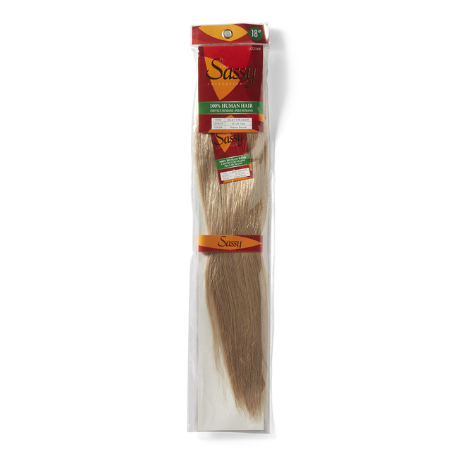 Silky Straight Natural Blonde 18 Inch Human Hair Extension
