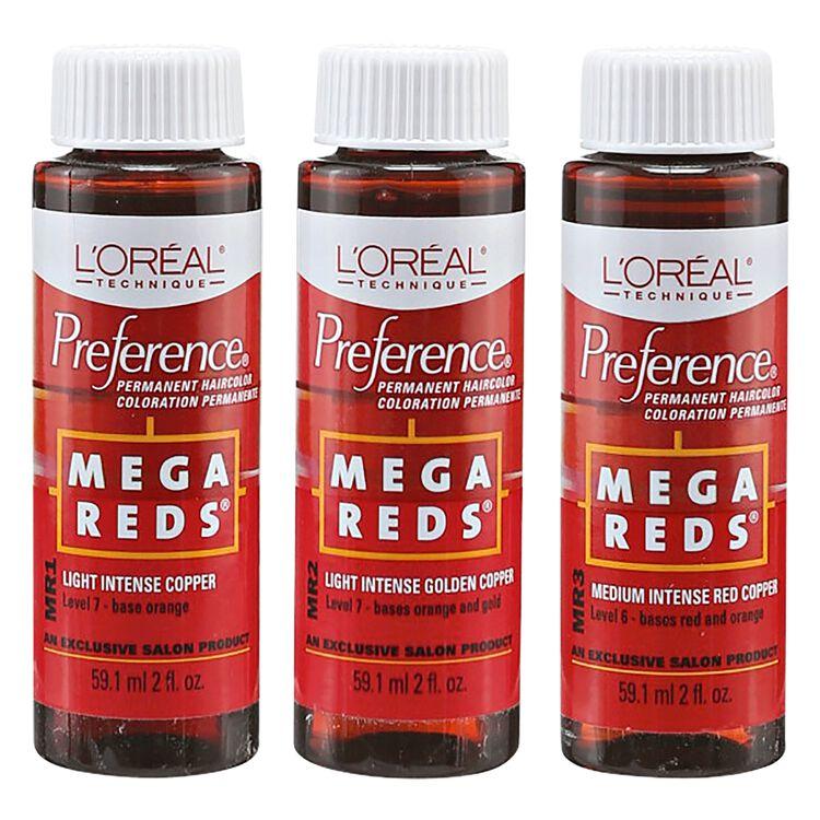 Mega Reds Permanent Hair Color