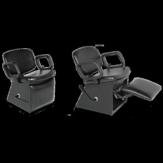 QSE 1850L Shampoo Chair with Kick-out Legrest